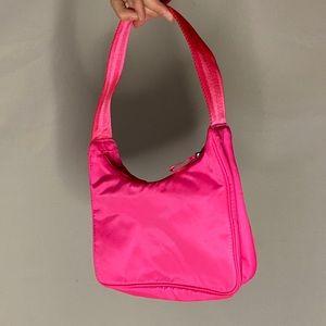 Aritzia Hot Pink Shoulder Bag